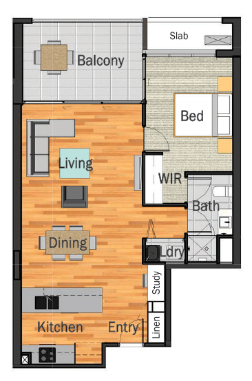 1-Bedroom-1-Bathroom