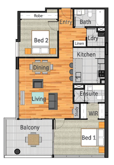 2-Bedrooms-2-Bathrooms-H